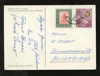 NEPAL 1960 PPC PUMO...GERMAN HIMALAYA EXPEDITION SIGNED