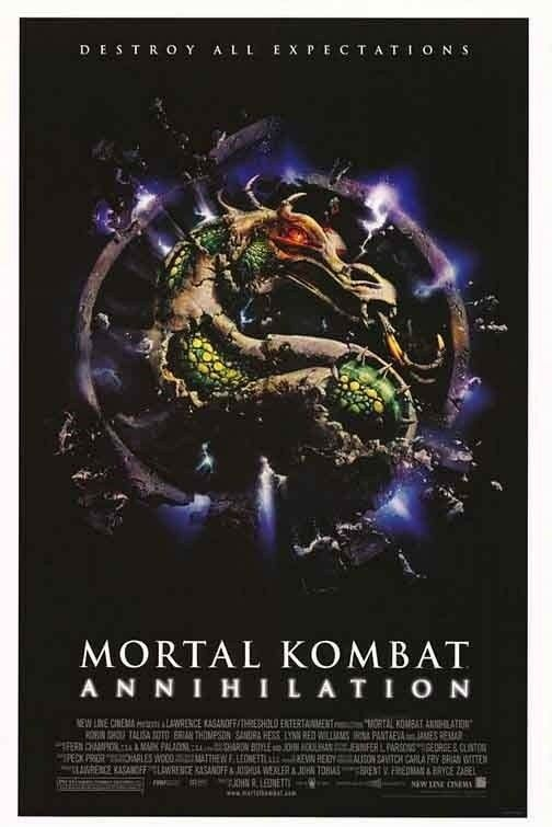 MORTAL KOMBAT ANNIHILATION MOVIE POSTER ORIGINAL 27x41 | eBay