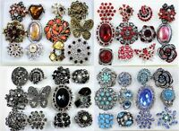 50 PC WHOLESALE LOT CHIC COCKTAIL COSTUME JEWELRY RINGS