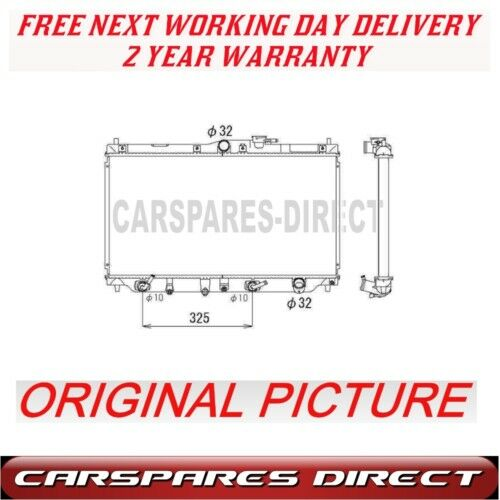 details about honda accord rover 620 623 87> automatic radiator new**