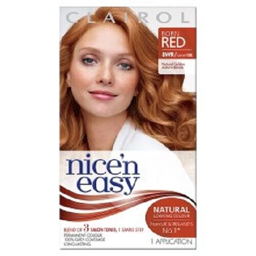 clairol nice n easy natural golden auburn blonde 8wr. Black Bedroom Furniture Sets. Home Design Ideas