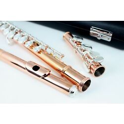 BAND C FLUTE - SILVER PLATED  with Case & Accessories