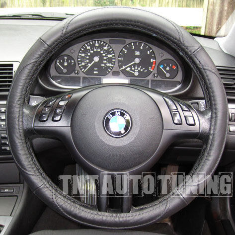 leather steering wheel cover bmw 1 6 x3 x5 z3 z4 e30 m3 ebay. Black Bedroom Furniture Sets. Home Design Ideas