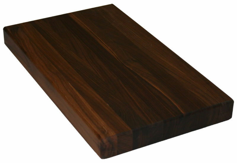 Block Board Solid Wood Board ~ Walnut hardwood butcher block cutting boards ebay