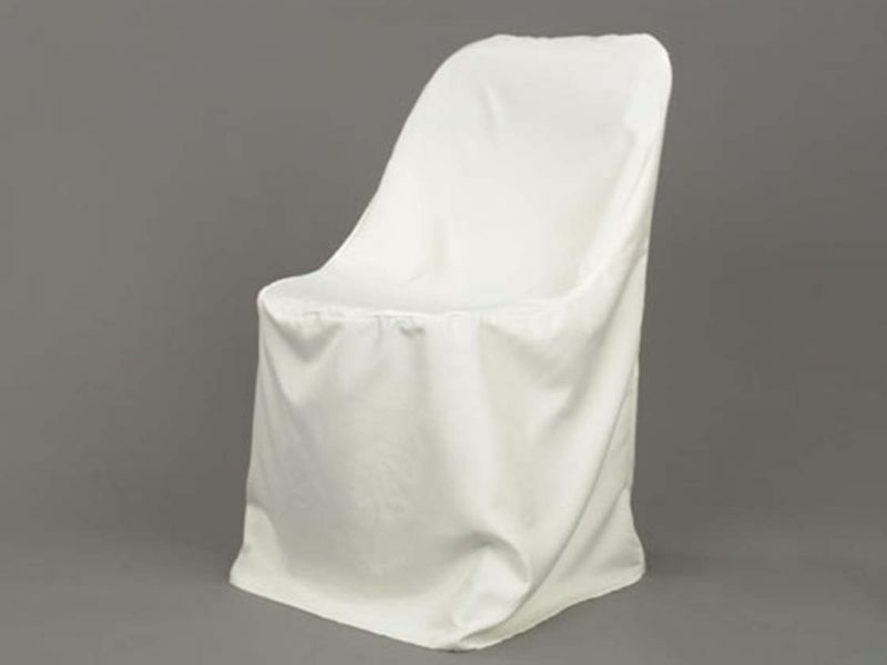 300 Folding Chair Covers 3 Colors 100% Polyester Made in