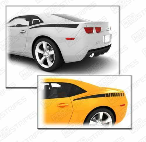 Chevy camaro 2010 2011 rear quarter side stripes decals ebay for Ebay motors commercial truck parts