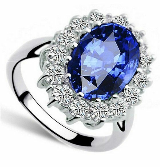 lady diana 39 s ring verlobungsring kate william royal blau
