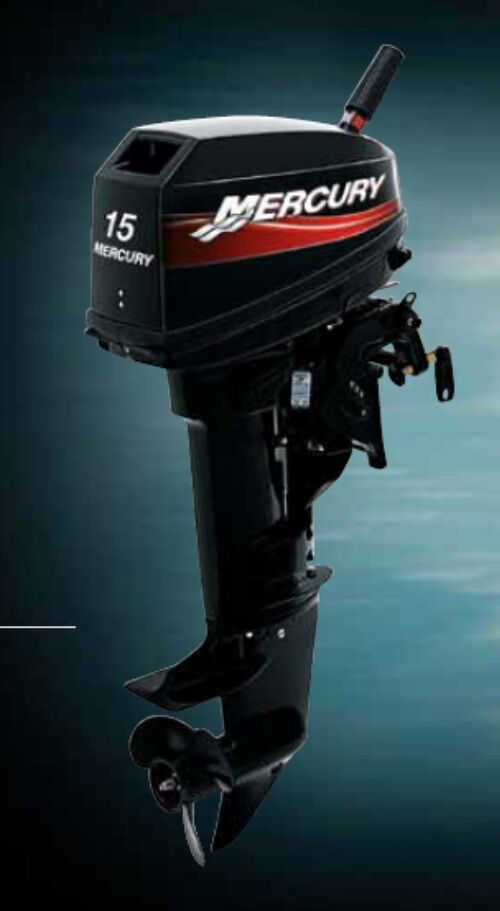new mercury 2 two stroke 15 hp outboard boat motor engine