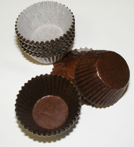 120 Chocolate Glassine Petit Four Truffle Sweet Cases Ebay