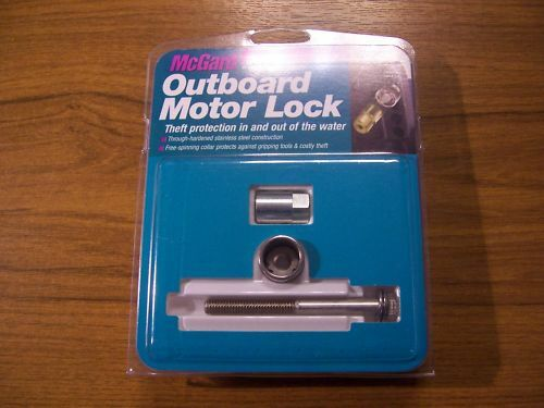 New Mcgard Outboard Engine Motor Bolt Lock Security With