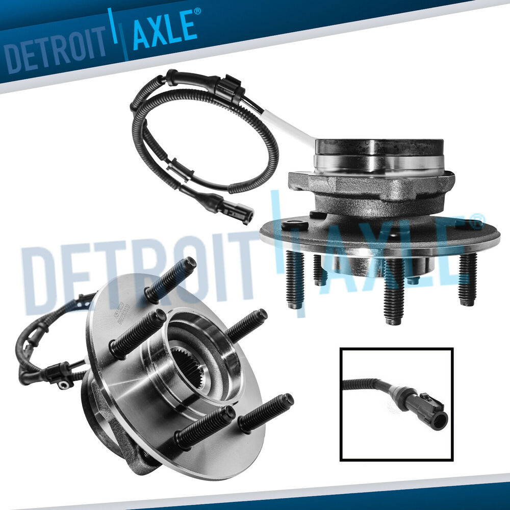 2000 Ford F150 4x4 >> 2 New FRONT Wheel Hub Bearing Assemblies - ABS - 5 STUD 4WD - For Ford F-150 | eBay