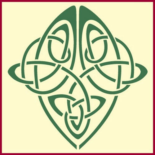 Influential image intended for printable celtic stencils