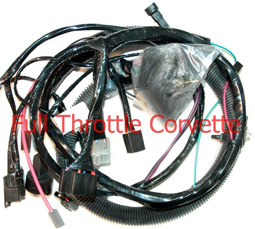 1982 Corvette Engine Wiring Harness New