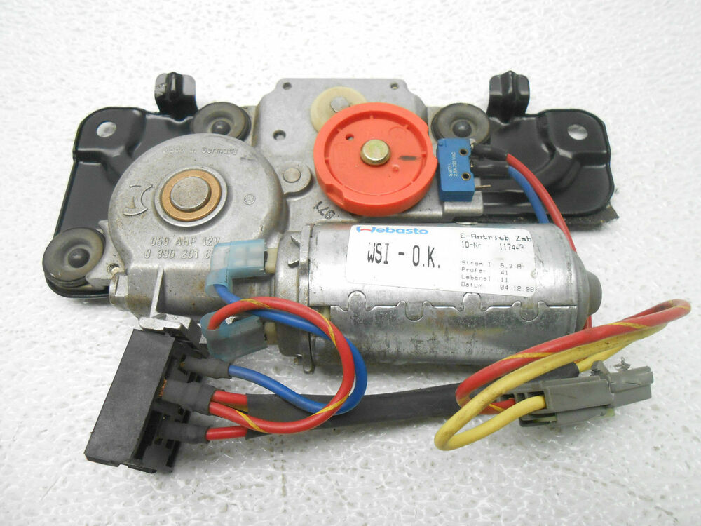 lincoln continental sunroof sun roof motor 1998 2002 oem new ebay. Black Bedroom Furniture Sets. Home Design Ideas