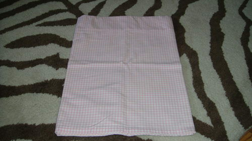 Pottery Barn Kids Pink Gingham Window Valance Ebay