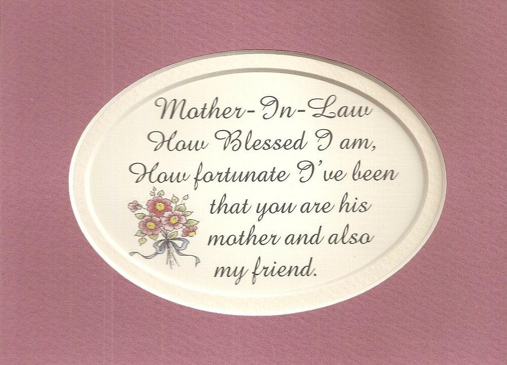 Mother in law love blessed i am fortunate my friend moms verses poems