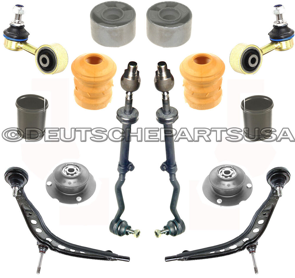 Control Arm Arms Ball Joint Tie Rod Strut Mount For Bmw