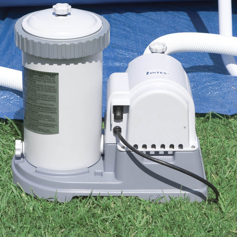 Intex 2500 Gph Above Ground Swimming Pool Pump Filter Ebay