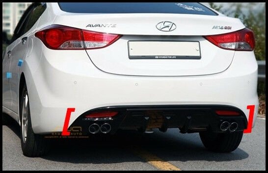 New Rear Bumper Diffuser For Hyundai Elantra Avante Md