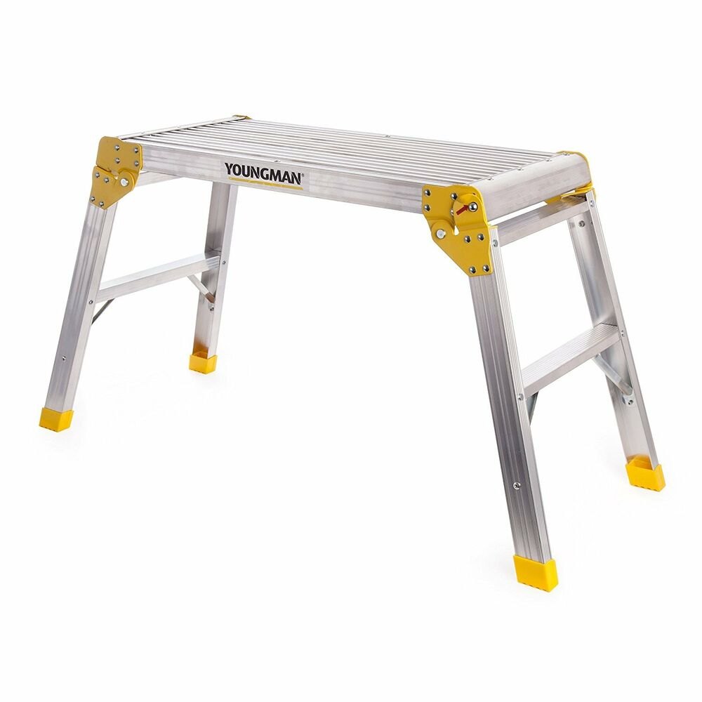Youngmans Hop Up Step Ladder Odd Job Folding Stool