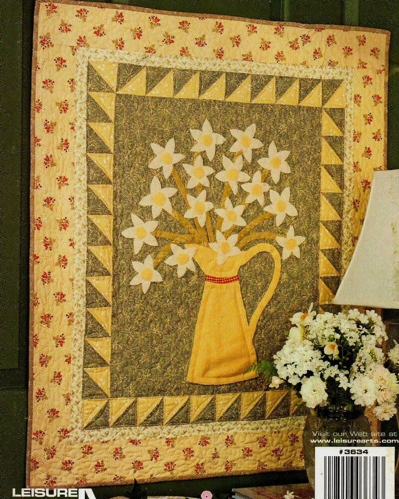 Applique Fall Amp Winter Designs Quilting Pattern Book New