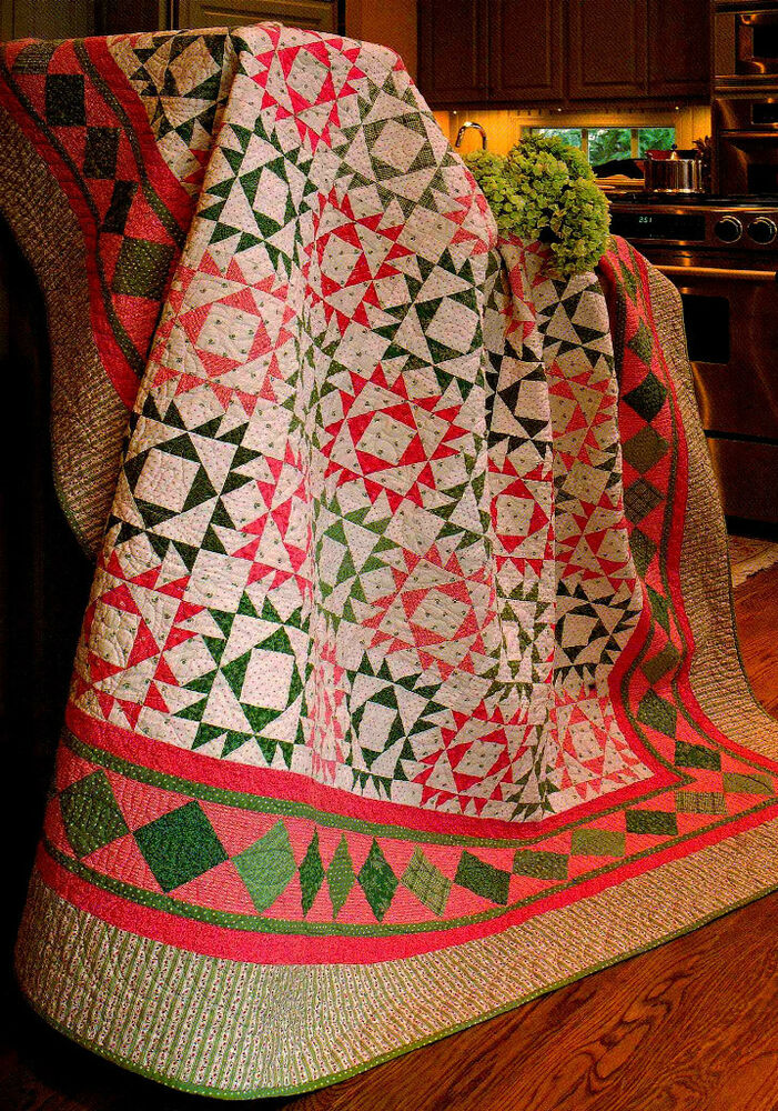 Christmas Amp Other Quilted Treasures Paper Piecing Quilt