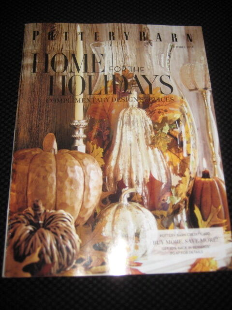 POTTERY BARN PB CATALOG Home for the Holidays Issue ...
