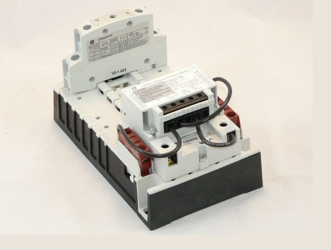 New GE CR460B 3 wire Mech Held 2 pole Lighting Contactor