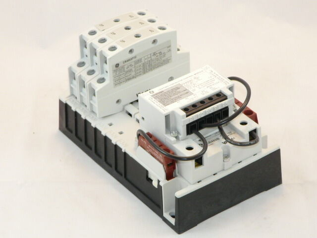 new ge 3 wire mechanically held 6p lighting contactor 120v cr463m60nja ebay