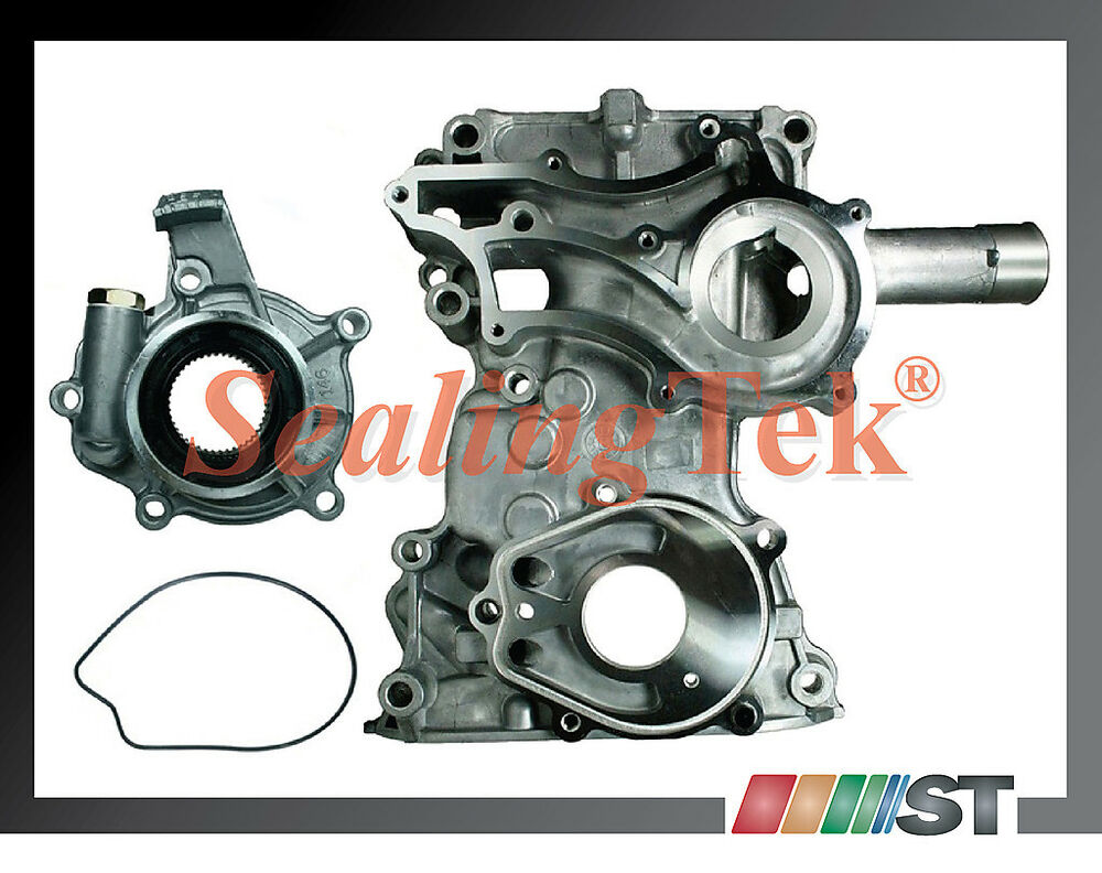timing of engine 85 95 toyota 22r 22re timing chain cover oil pump kit