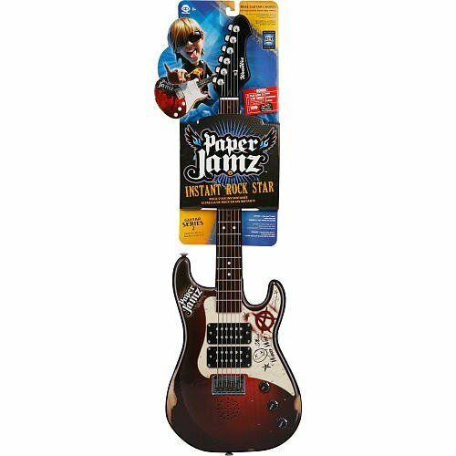 paper jamz pro series guitar About the paper jamz pro series guitar: rock out like never before • 14 active frets for a wider range of notes • real notes and chords to create your.