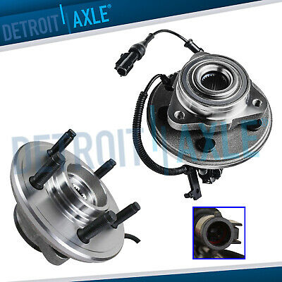 06-10 Ford Explorer & Mercury Mountaineer 2 Front Wheel Bearing & Hub 4.0L 4.6L