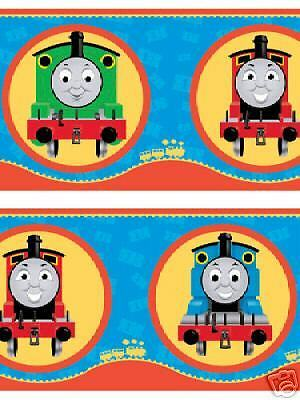 NEW CHILDRENS KIDS TRAINS THOMAS THE TANK ENGINE & FRIENDS ... Thomas And Friends Wallpaper Border