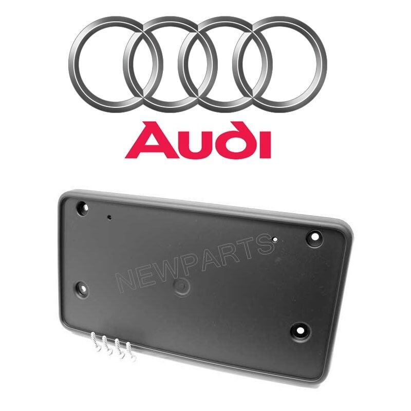 Audi A4 License Plate Frame: Audi A4 Quattro 2002-2006 Front License Plate Base Genuine