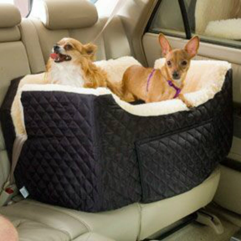 pet dog cat lookout car carrier bed booster car seat 34lbs large snoozer black ebay. Black Bedroom Furniture Sets. Home Design Ideas