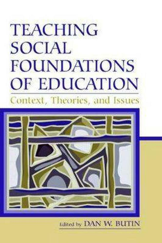foundations of education History and social foundations of american education, the, 10/e  historical  and philosophical foundations of education: a biographical introduction, 5/e.