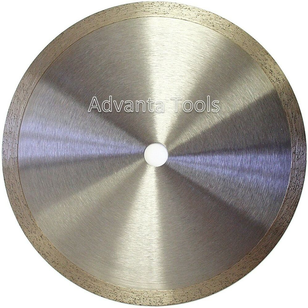 8 Standard Wet Dry Cutting Continuous Rim Tile Diamond Saw Blade Ebay