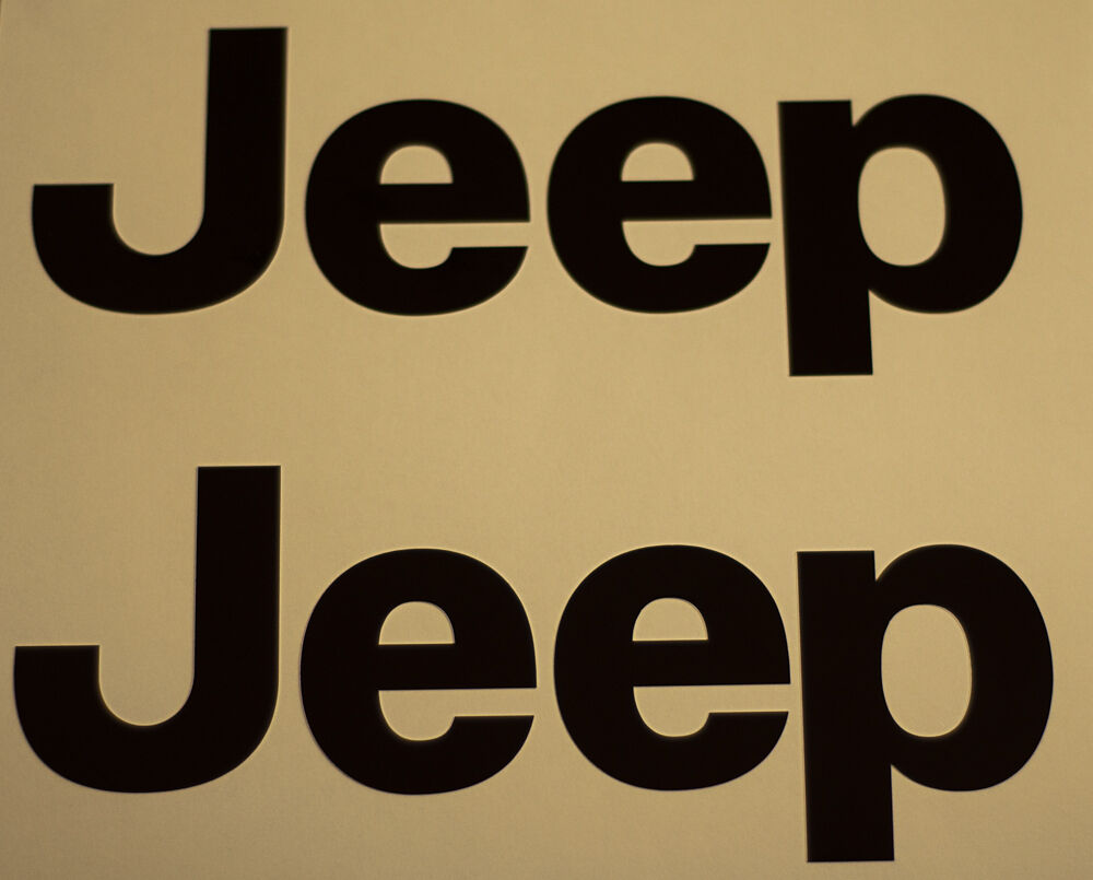 2 Jeep Decals Free Shipping Ebay