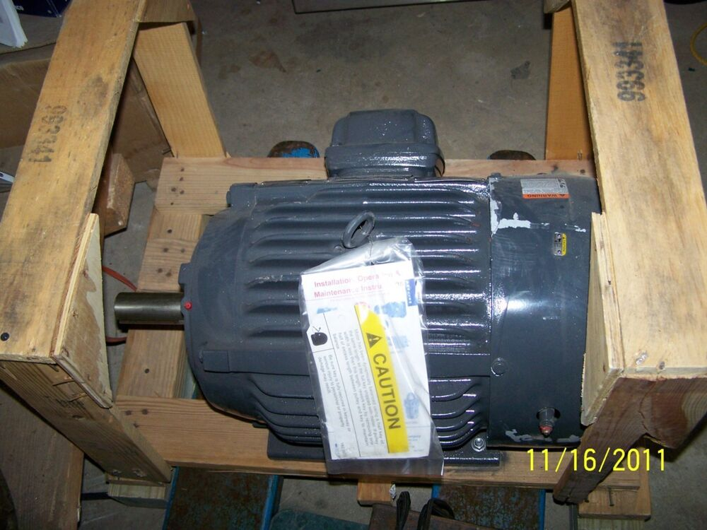 New emerson electric motor 20 hp catalog x20e1b model for Motor technology inc dayton ohio