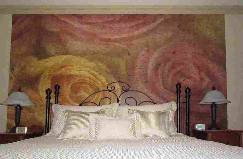 Large roses wall mural 9 39 wide by 8 39 high ebay for 8 sheet giant wall mural