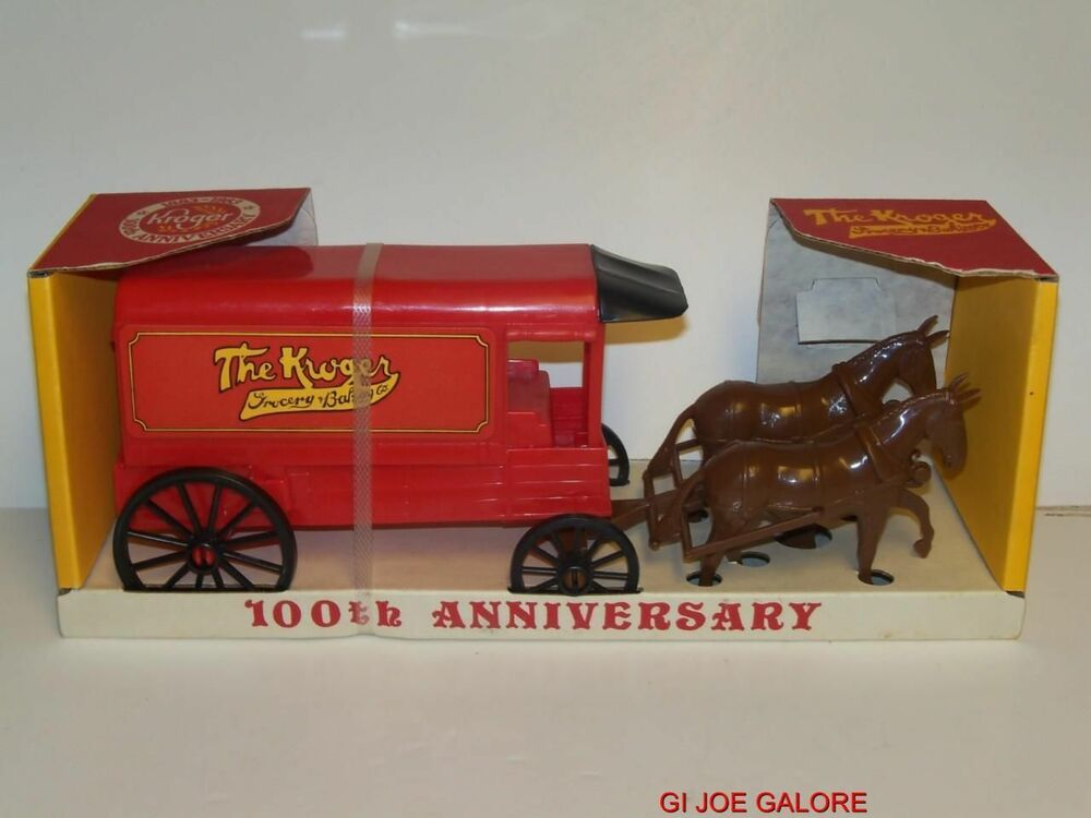 Toys From Kroger : Kroger th anniversary toy horse stagecoach
