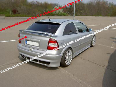 vauxhall opel astra g mk ii boot trunk spoiler new new ebay. Black Bedroom Furniture Sets. Home Design Ideas