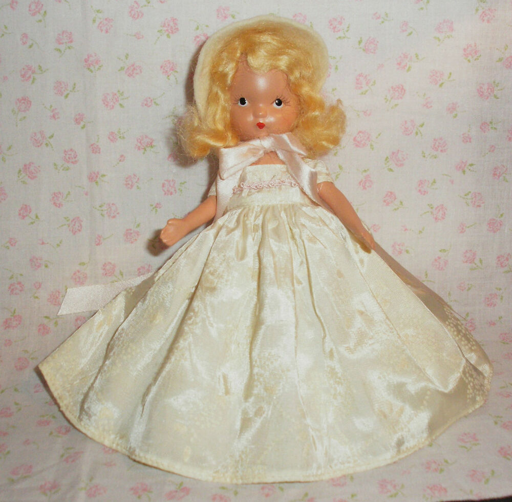 vintage nancy ann storybook doll bisque pretty maid ebay. Black Bedroom Furniture Sets. Home Design Ideas