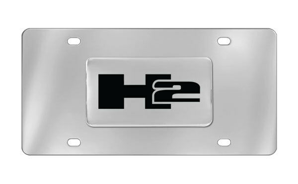 Hummer H2 Decorative Vanity Front License Plate