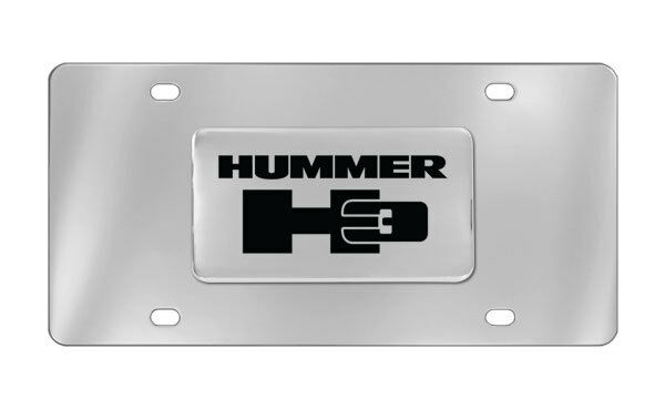 Hummer H3 Decorative Vanity Front License Plate