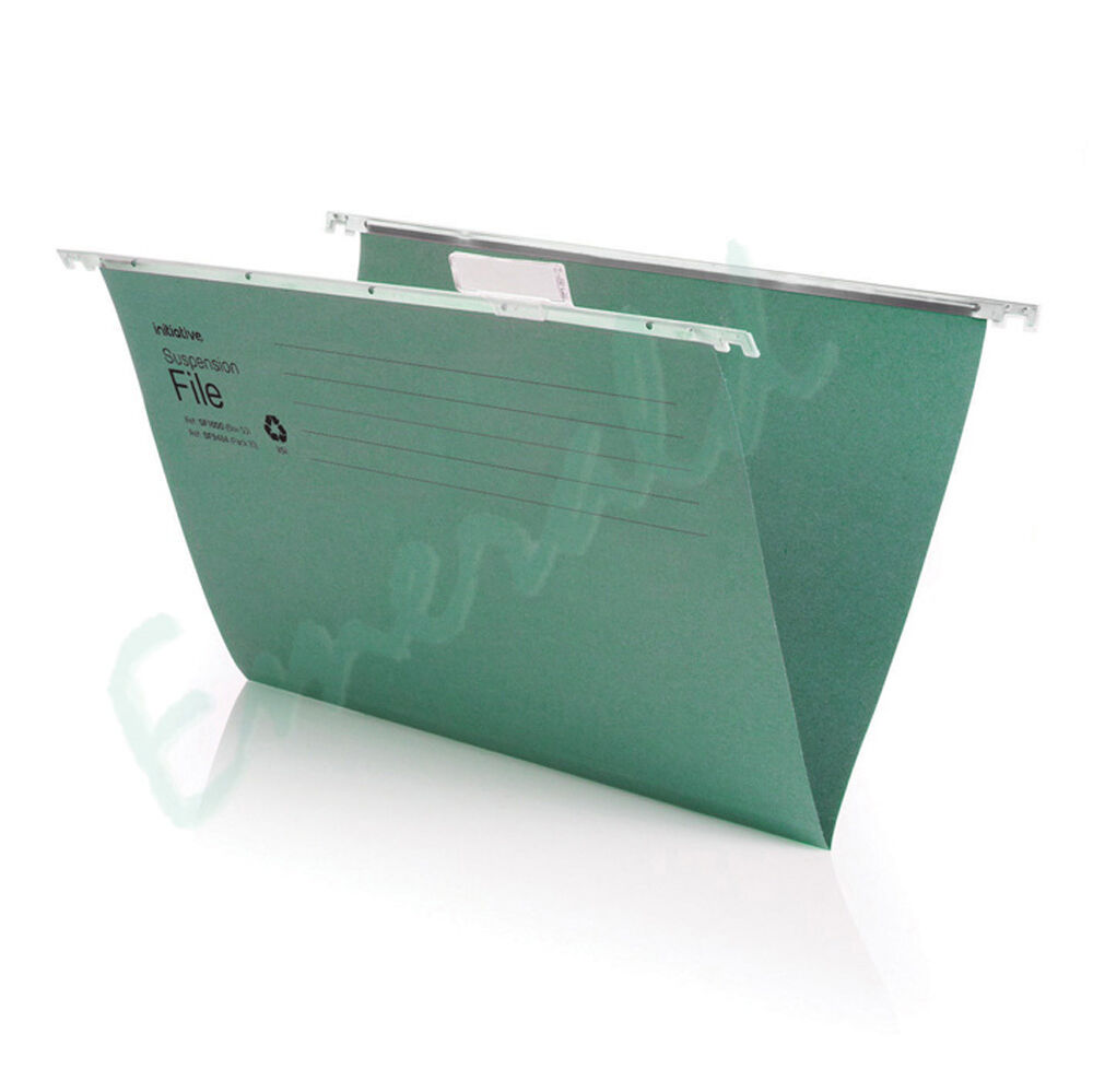100 foolscap heavyweight suspension files with tabs for Suspension fille