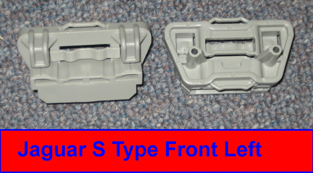 Jaguar s type window regulator clip set 2 front left for 2001 jaguar s type window regulator