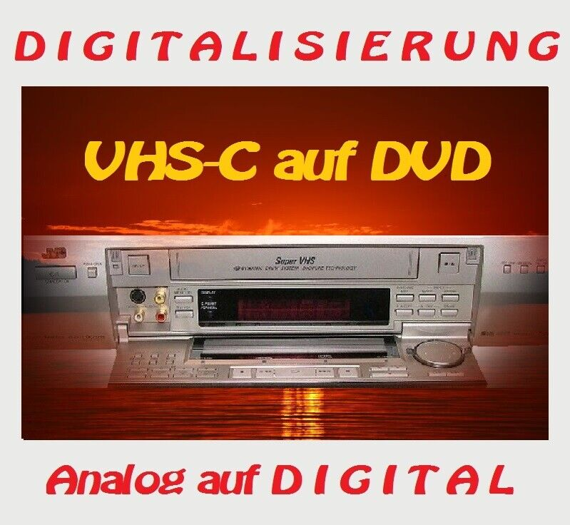 10 x vhs c kassetten auf dvd kopieren digitalisieren ebay. Black Bedroom Furniture Sets. Home Design Ideas