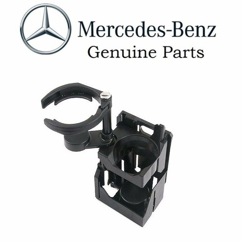 Mercedes w210 center console cup holder genuine new ebay for Mercedes benz cup holder replacement
