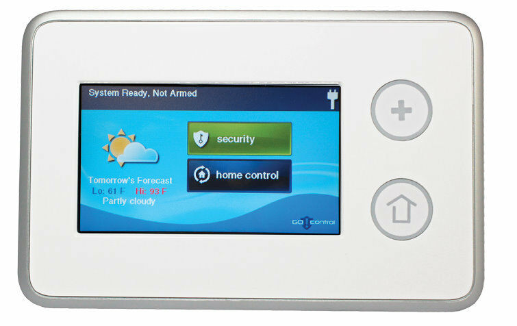 2gig Ts1 Touch Screen Keypad Wireless Security Alarm